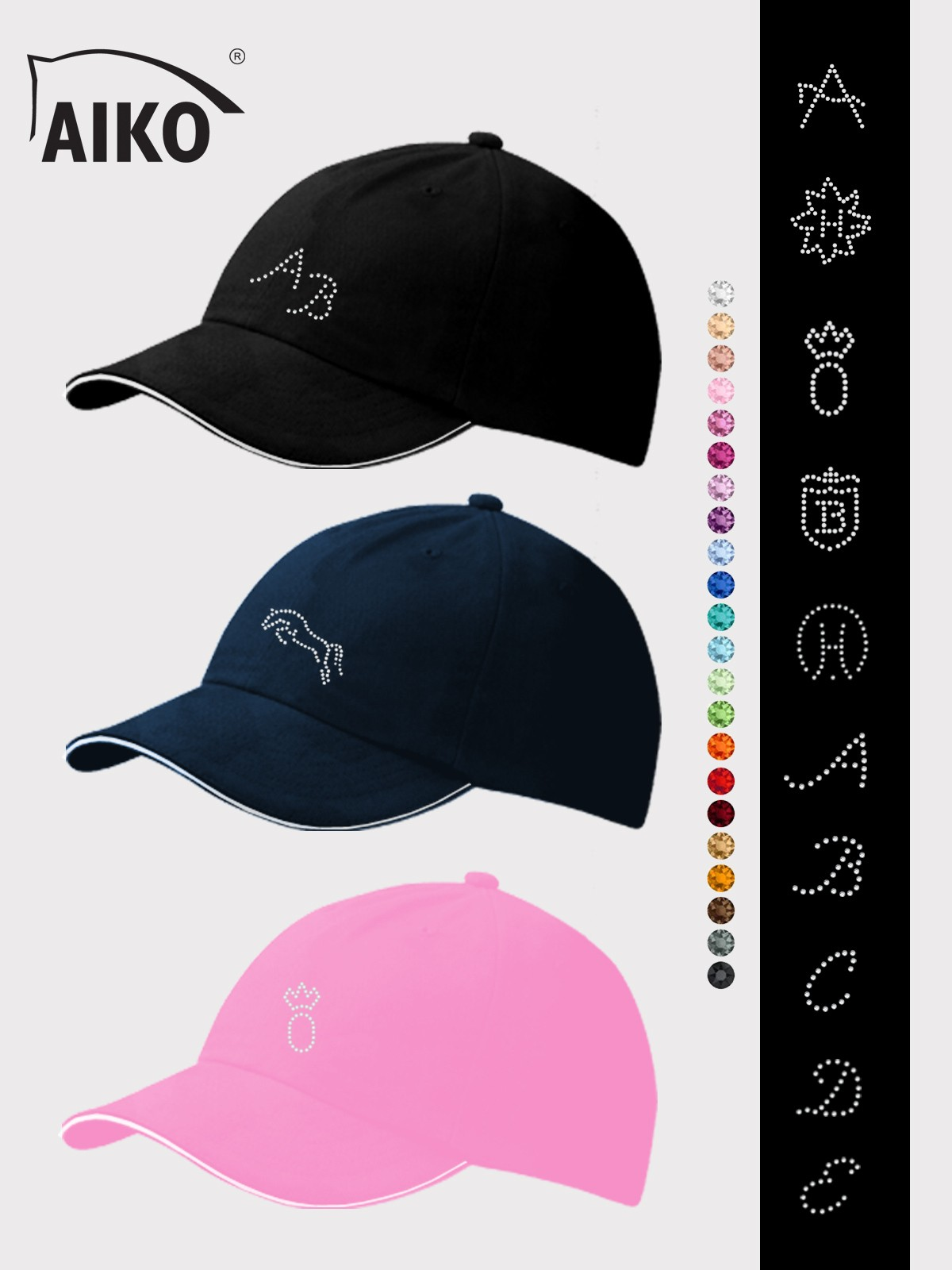 AIKO® - Individual Cap - Color Crystal