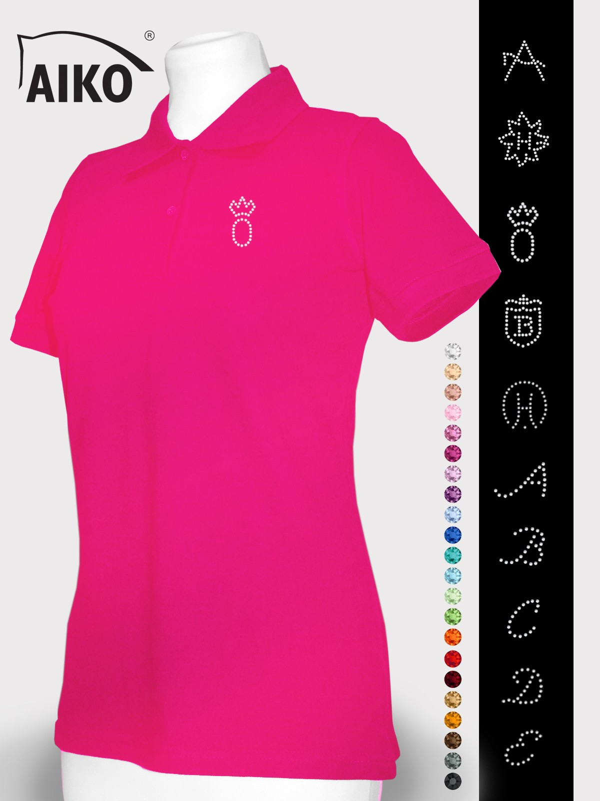 AIKO® - Individual Polo - Color Crystal