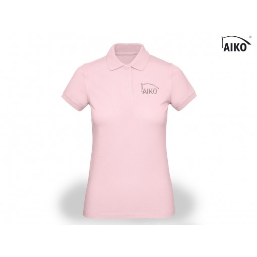 Ladies Polo - Organic Cotton - light rose