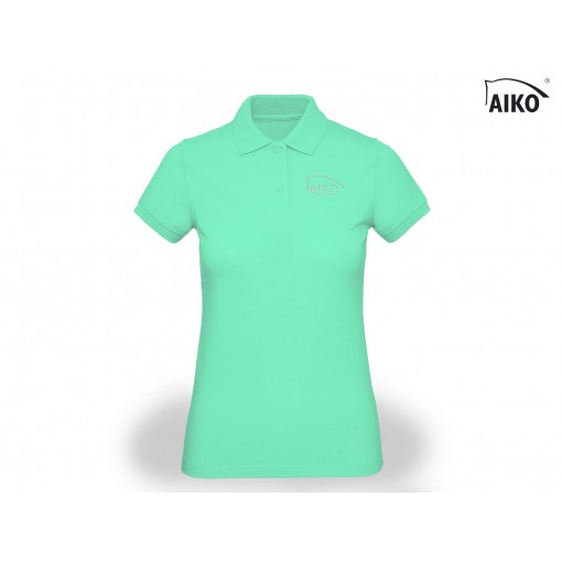 Ladies Polo - Organic Cotton - peppermint