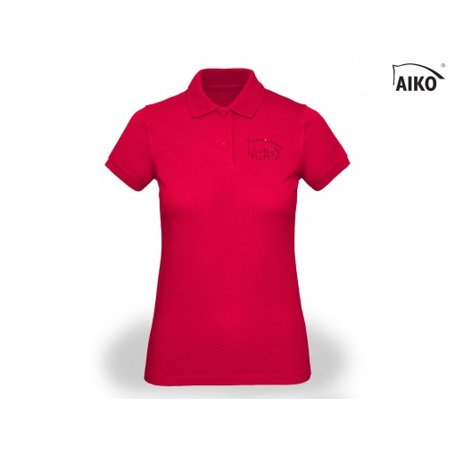 Ladies Polo - Organic Cotton - pink
