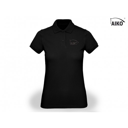 Ladies Polo - Organic Cotton - schwarz