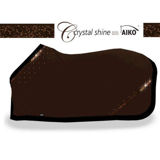 Crystal Shine - Abschwitzdecke mocca