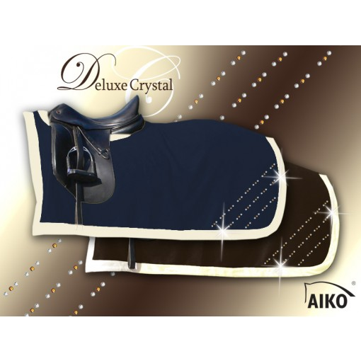 Deluxe Crystal - Exklusive Nierendecke mocca/creme