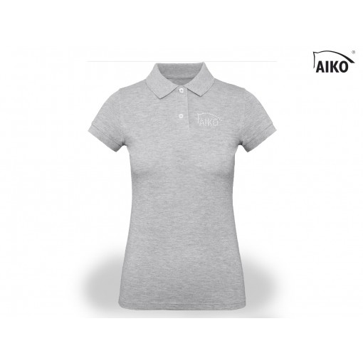 Ladies Polo - Organic Cotton - grey