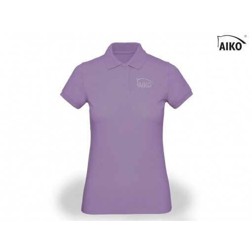 Ladies Polo - Organic Cotton - lavender