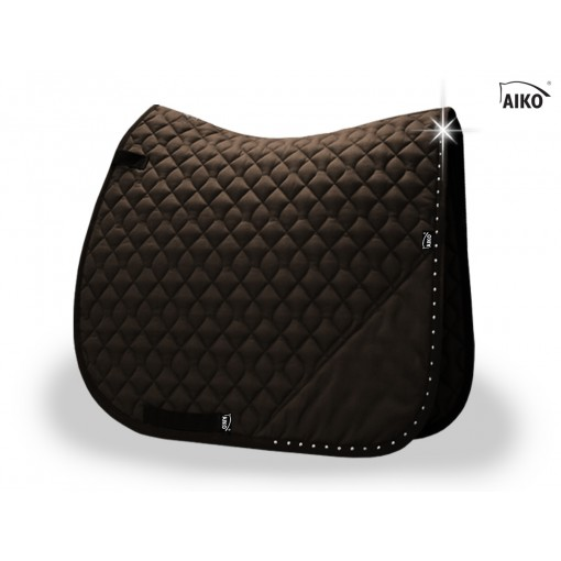 Brilliance - Exclusive saddle pad - mocca