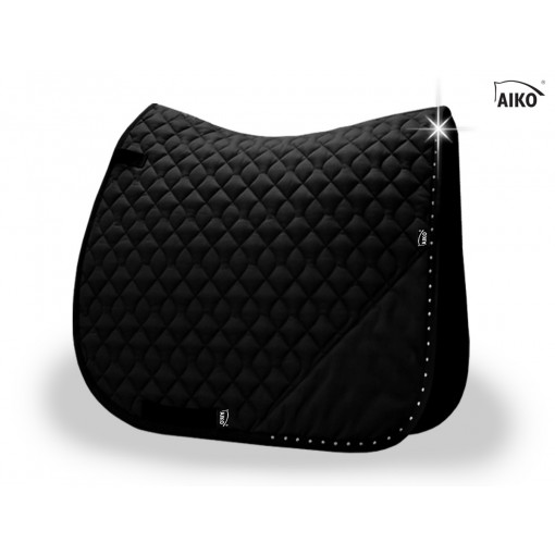 Brilliance - Exclusive saddle pad - black