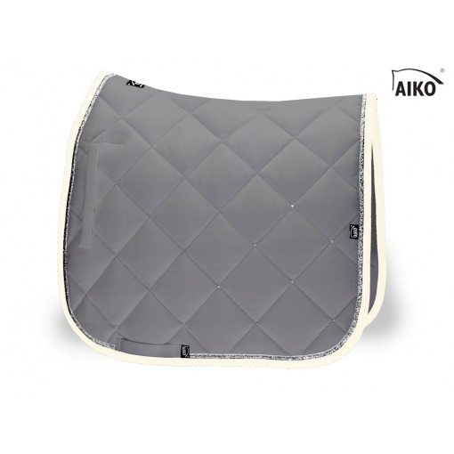 Crystal Shine - saddle pad - granite-grey