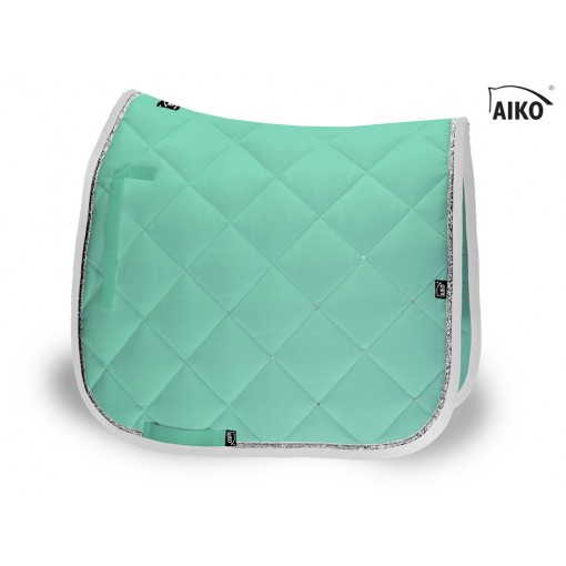 Crystal Shine - saddle pad - peppermint-grey