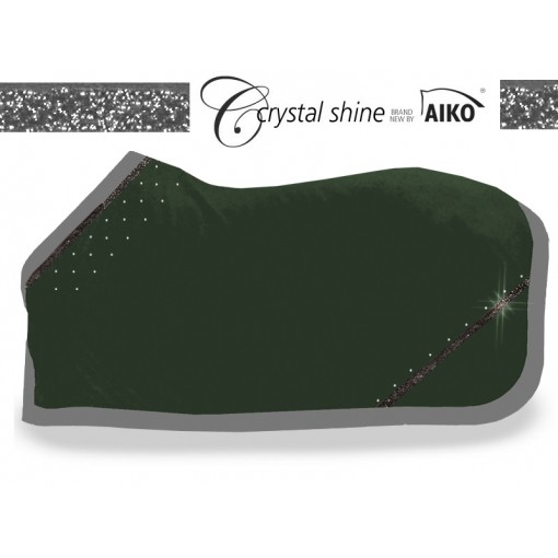 Crystal Shine - cooler rug olive