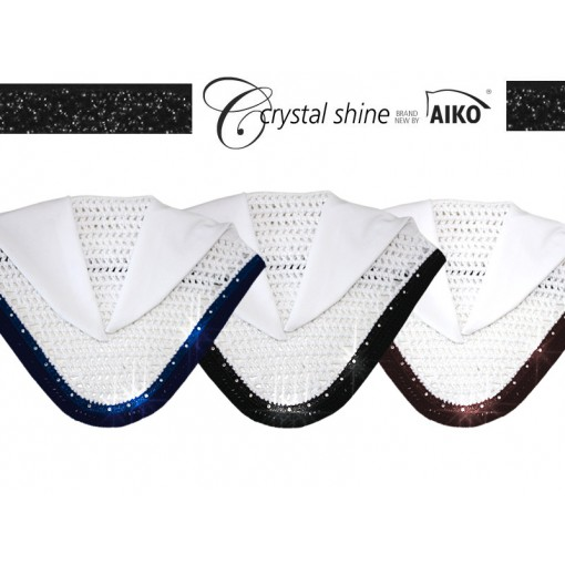 Crystal Shine - Fly Hood - white