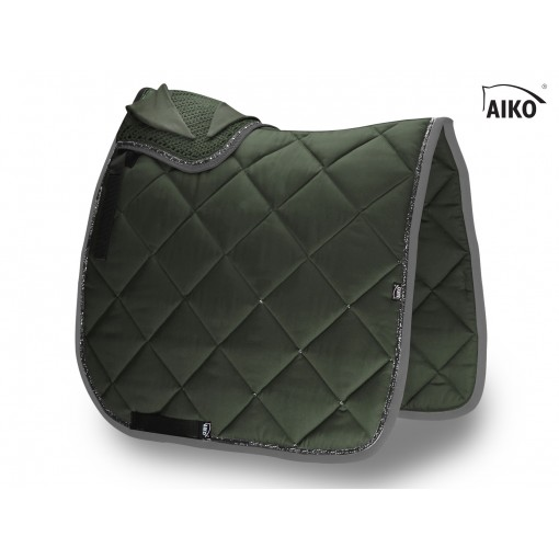 Crystal Shine - saddle pad - olive