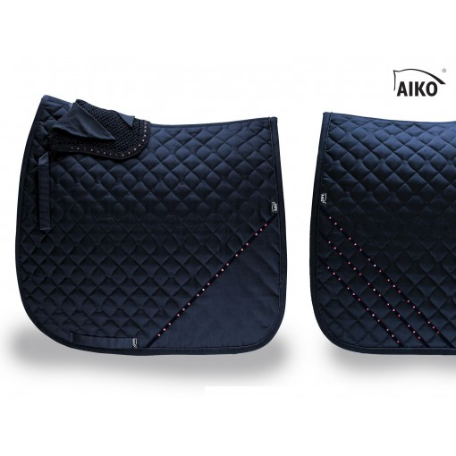 Deluxe Crystal saddle pad - limited 2020 - nightblue - rose