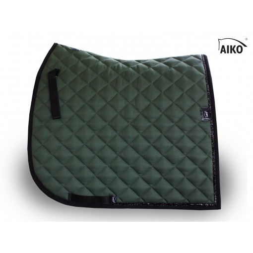 Shine - exclusive saddle pad - olive-black