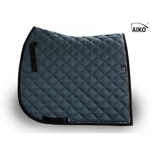 Shine - exclusive saddle pad - blue steel